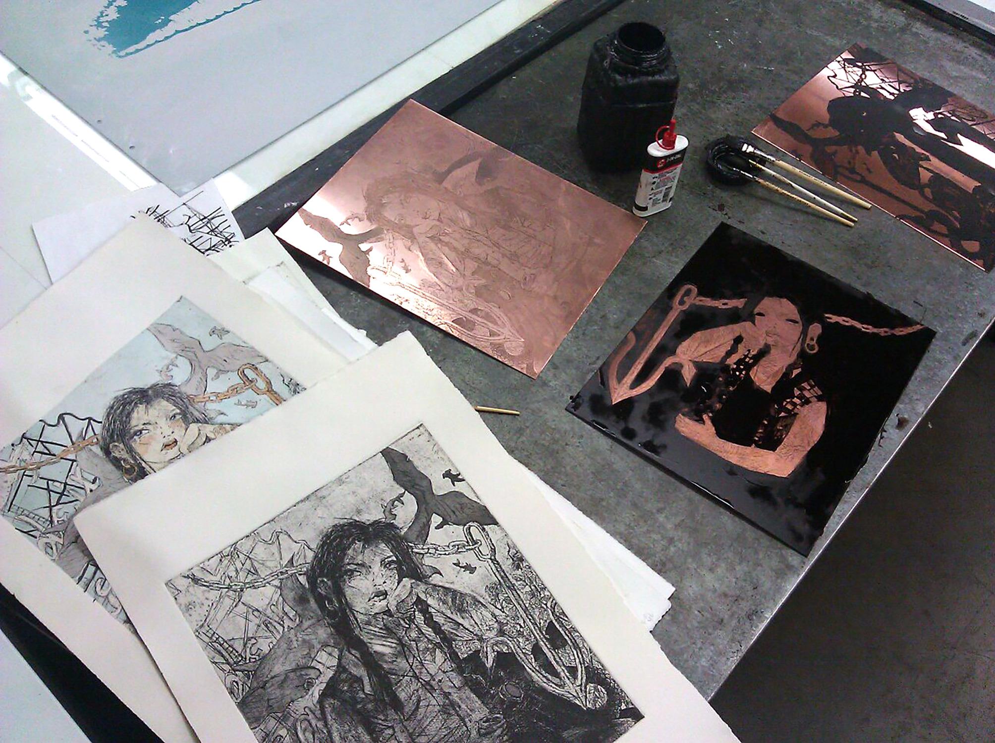 Print Process #1